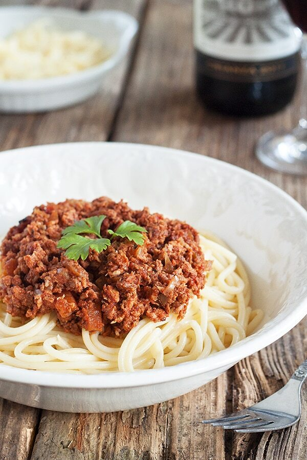 Slow Cooked Spaghetti Bolognese Recipe
