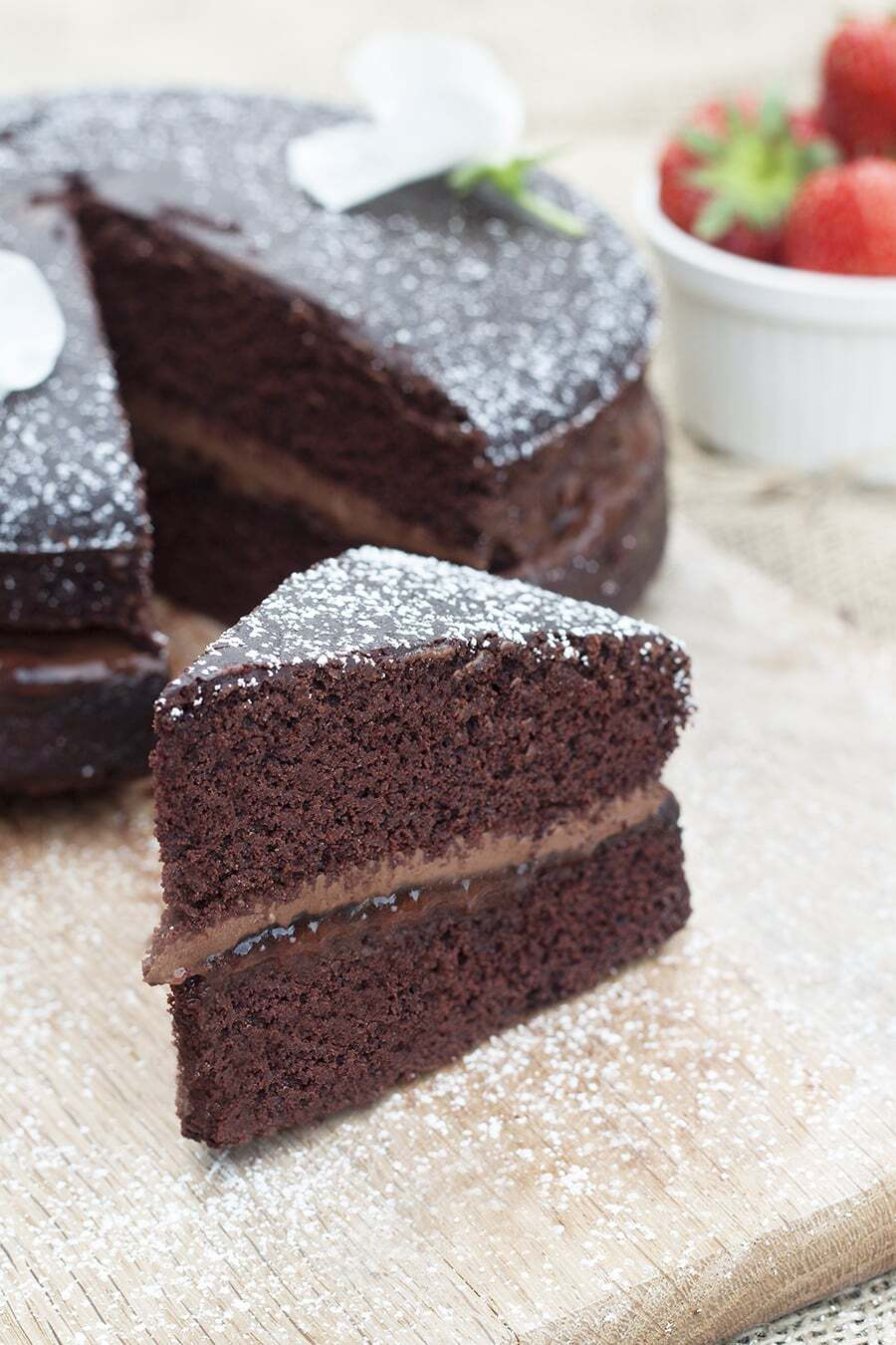 Vegan & Gluten Free Chocolate Cake Recipe
