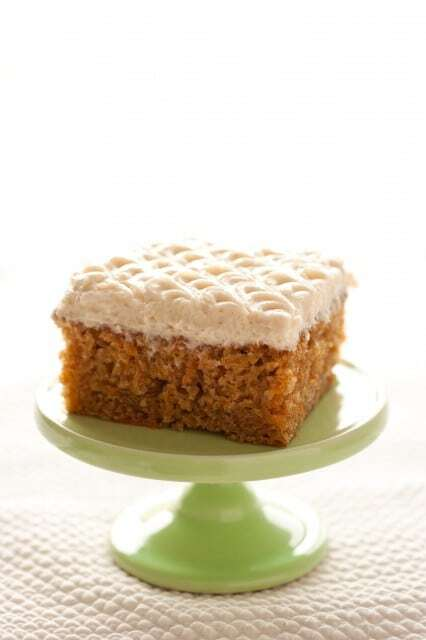 Carrot Cake Bars with Browned Butter Cream Cheese Frosting
