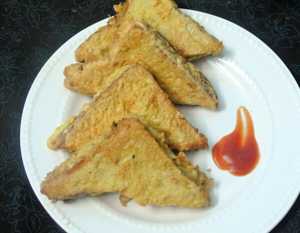 Easy To Make Snacks–Stuffed Fried Bread