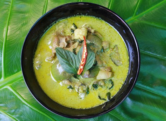 Vegetarisches Green Curry – Grünes Thai Curry mit Gemüse