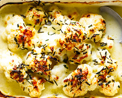 Special cauliflower cheese