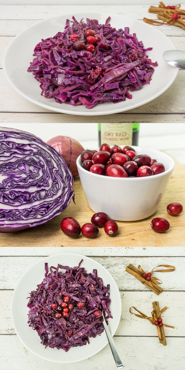 caramelised red cabbage