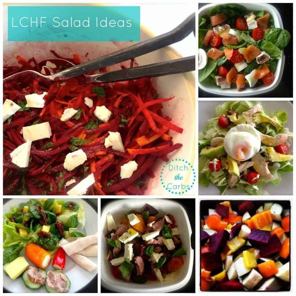 LCHF Salad Ideas