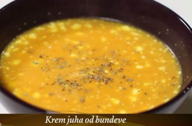 Video recept: Krem juha od bundeve