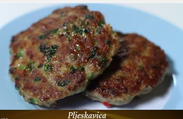 Video recept: Pljeskavica