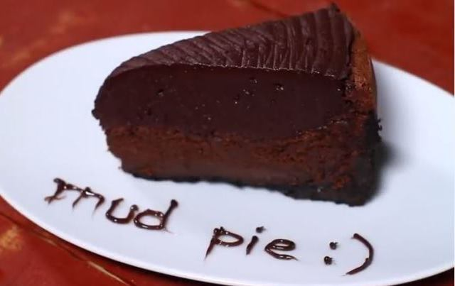 Video recept: Mississippi mud pie