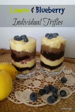 Lemon & Blueberry Individual Trifles