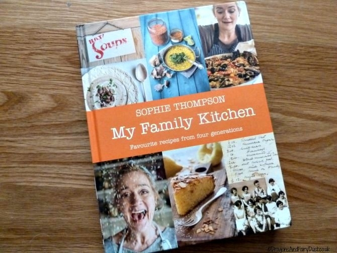 My Family Kitchen by Sophie Thompson and Bakewell Tart