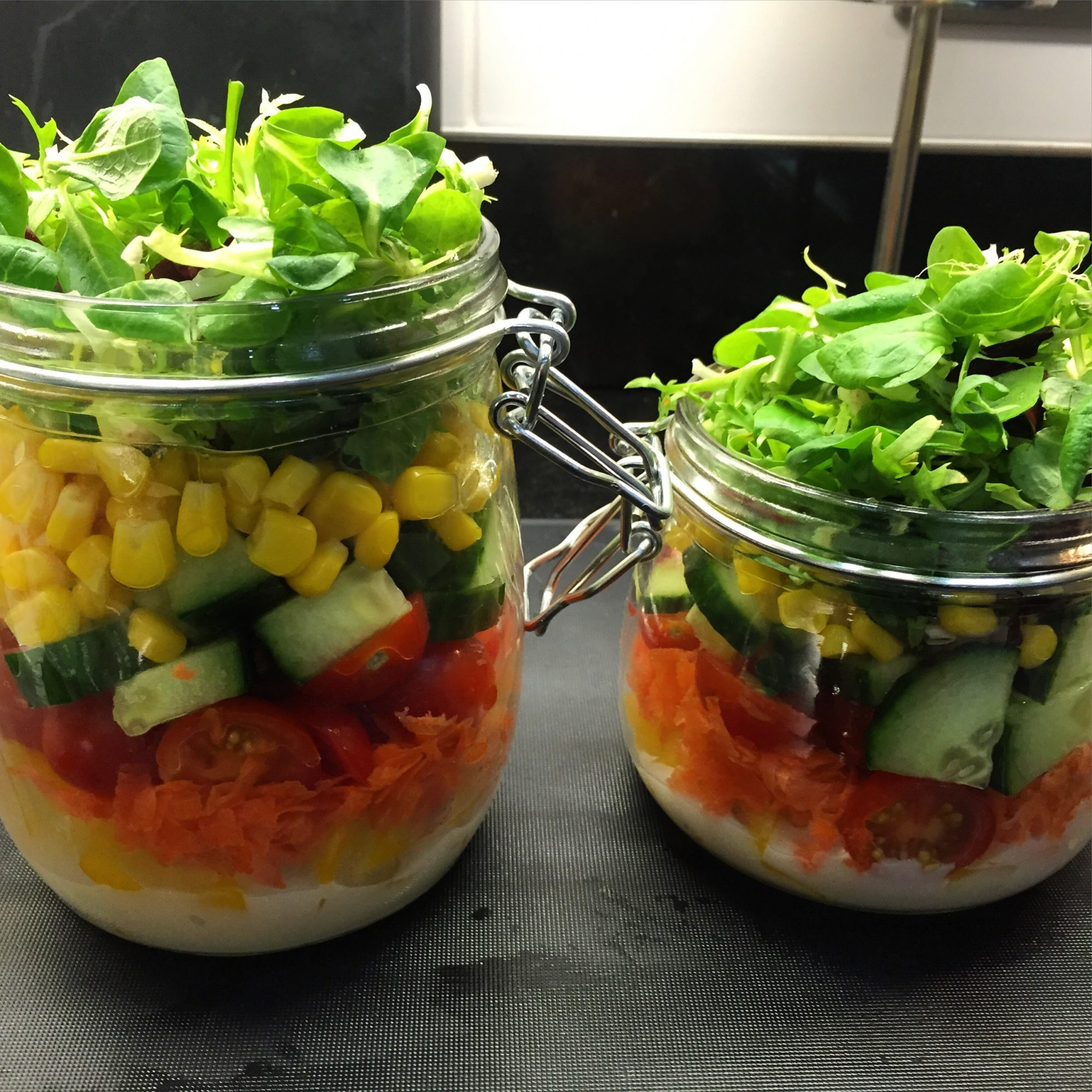Mason Jar Salads – Tips & Ideas
