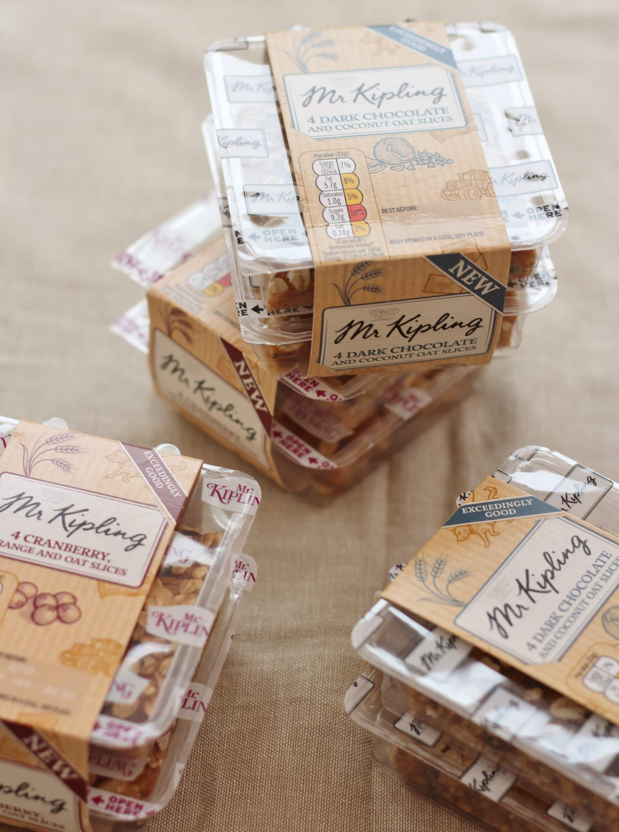 Review & Giveaway: Mr Kipling Exceedingly Good Slices