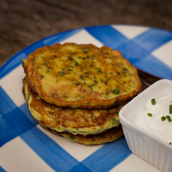 French Fridays with Dorie: Swiss chard pancakes