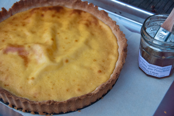 French Fridays with Dorie: Cheesecake Tart