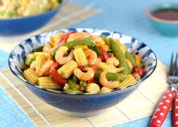 Quick & Easy Sweet Chilli Prawn Stir Fry