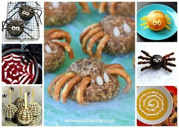 15+ Awesome Spider Themed Foods for Halloween