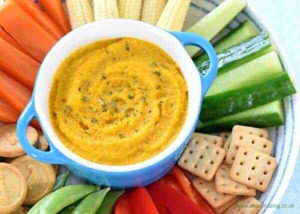 Easy Roasted Carrot Houmous Recipe