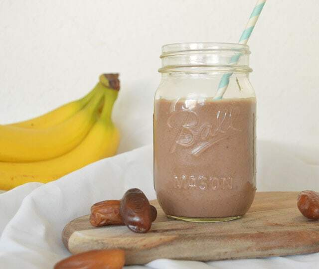 Choco Banaan Dadel Smoothie
