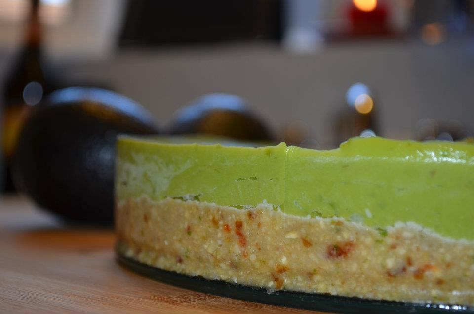 Avocado 'Cheesecake' – Raw, Vegan en Paleo!
