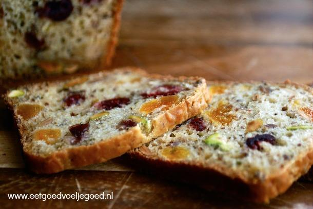 Paleo Noot en Fruit Brood