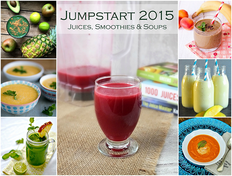 Jumpstart 2015 – Juices, Smoothies & Soups