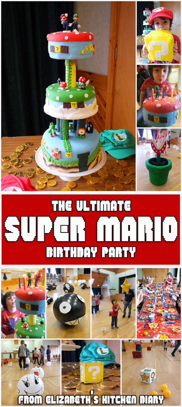 The Ultimate Super Mario Bros Birthday Party!