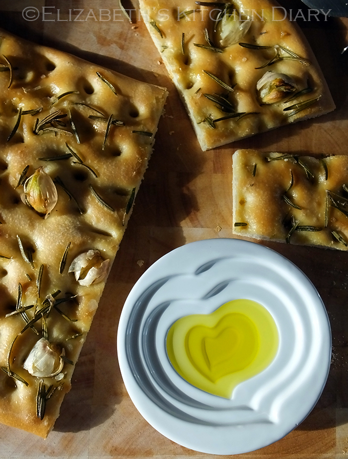 Garlic and Rosemary Focaccia with Smoked Sea Salt {Bread Machine Recipe} PLUS Win Your Own Adoptive Olive Tree from Pomora and a Year of Gorgeous Olive Oil RRP £135 {Review & Giveaway}