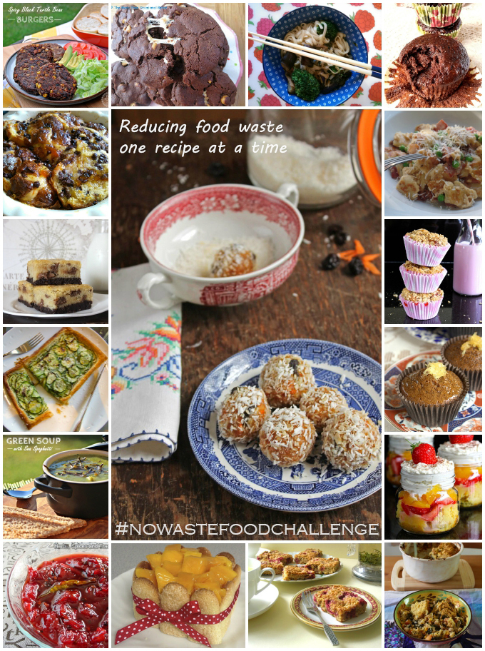 No Waste Food Challenge – the June 2015 Recipe Collection
