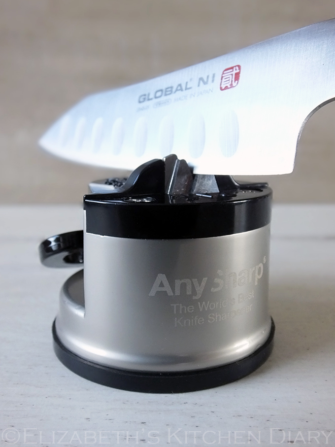 The World's Best Knife Sharpener {Review & Giveaway}