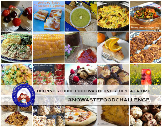 No Waste Food Challenge – 20 Inspired Recipes to Help Reduce Food Waste