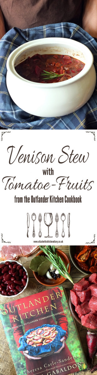 Venison Stew with Tomatoe-Fruits