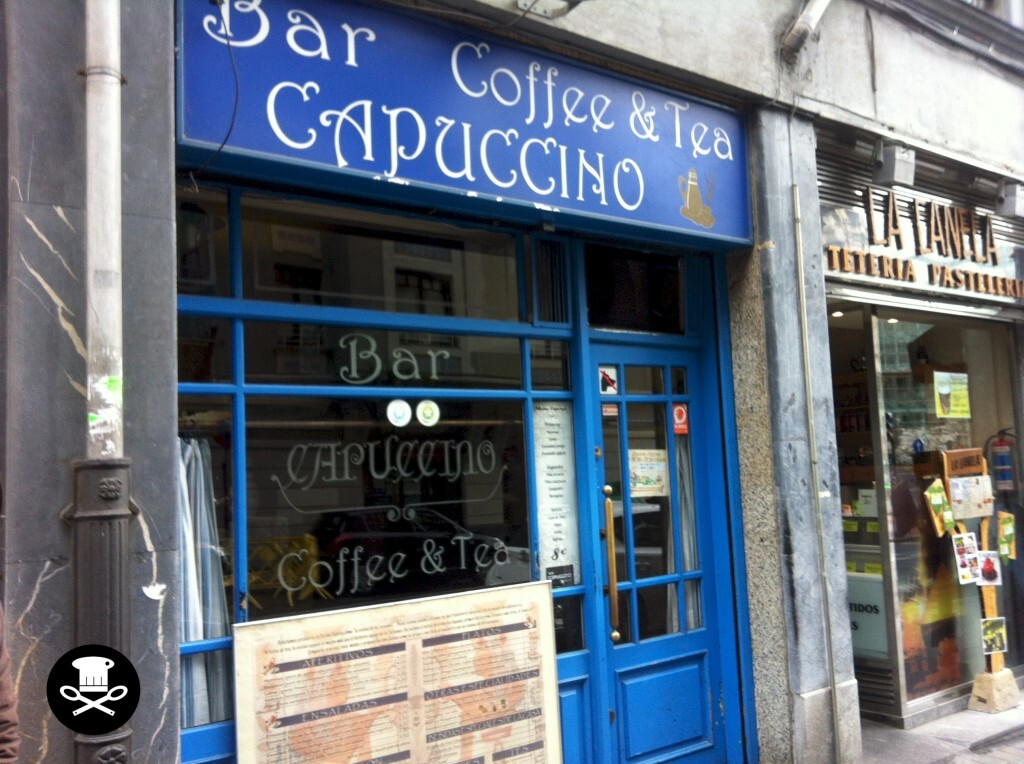 Bar Capuccino Coffee & Tea. Egipcio (Bilbao) 2014