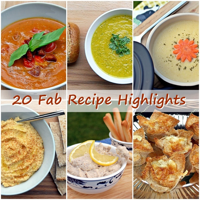 20 Fab Recipe Highlights for my 3rd Anniversary