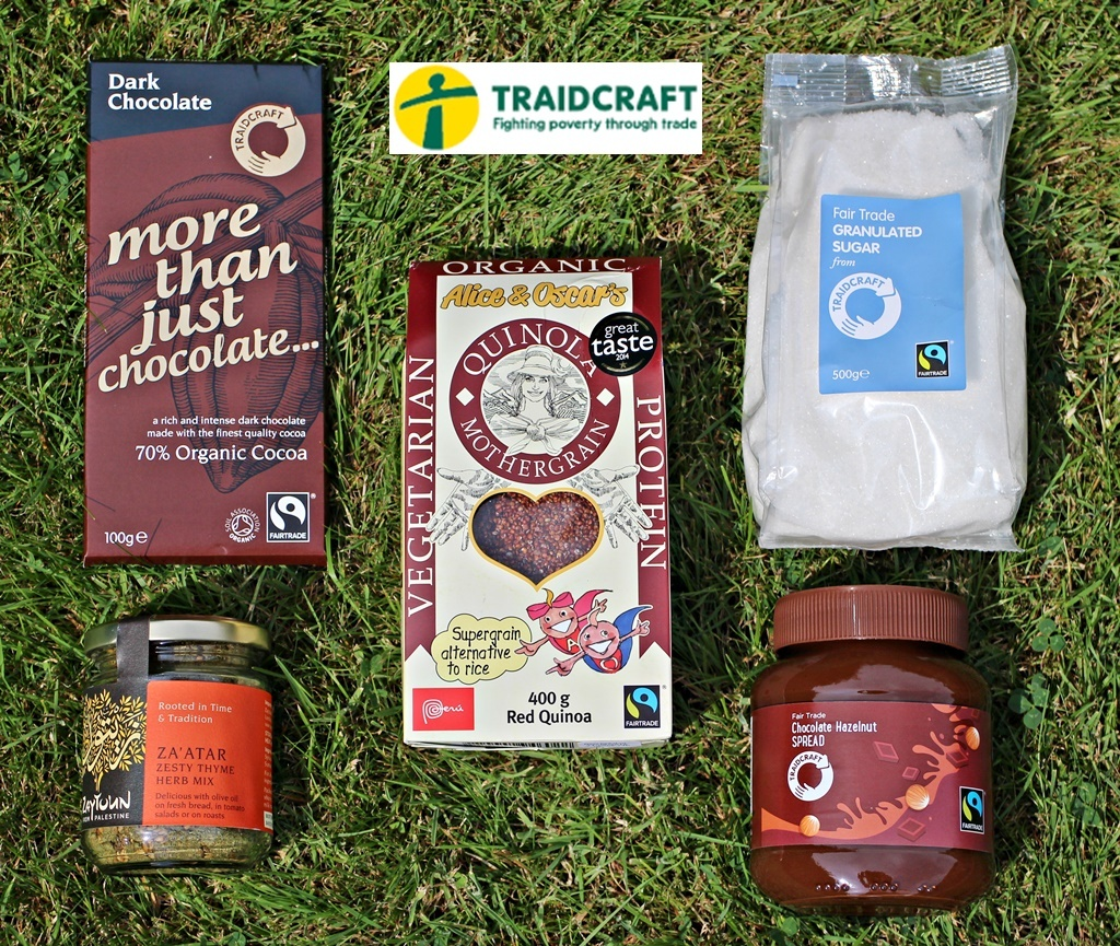 Make a difference when you cook with Fair Trade products from Traidcraft!