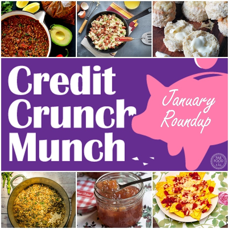 January's Credit Crunch Munch Roundup – 27 Fab Frugal Recipes
