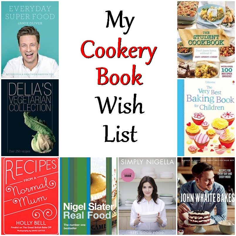My Cookery Book Wish List