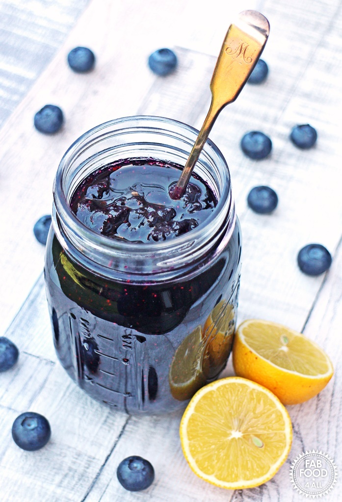 Simple Blueberry Jam – no pectin, just 3 ingredients!