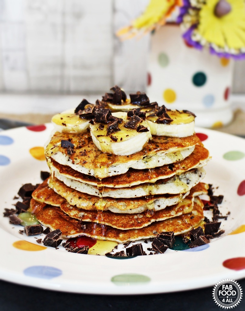 Gluten Free Chocolate Chip Pancakes – incredibly delicious!