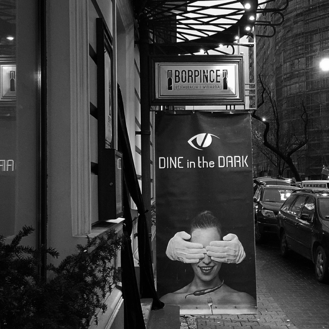 Dine in the Dark – Borpince | Warszawa