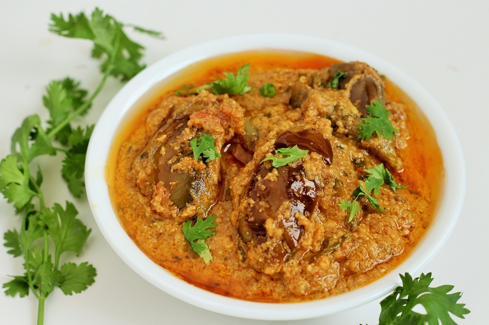 Hyderabadi Bagare Baingan recipe