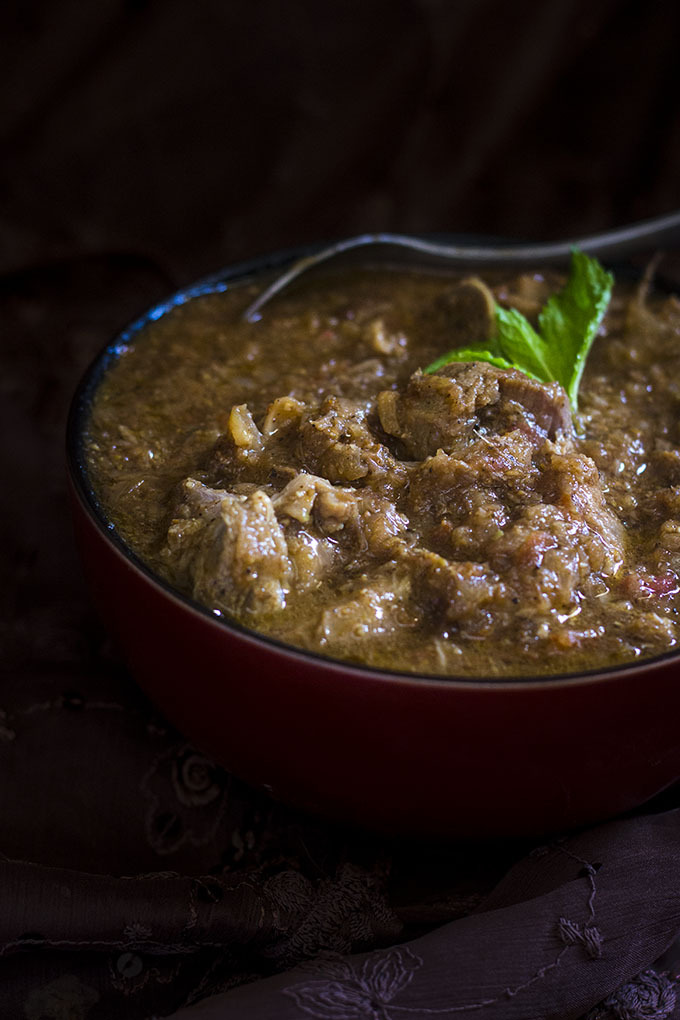 Chettinad Mutton Gravy, Chettinad mutton kulambu
