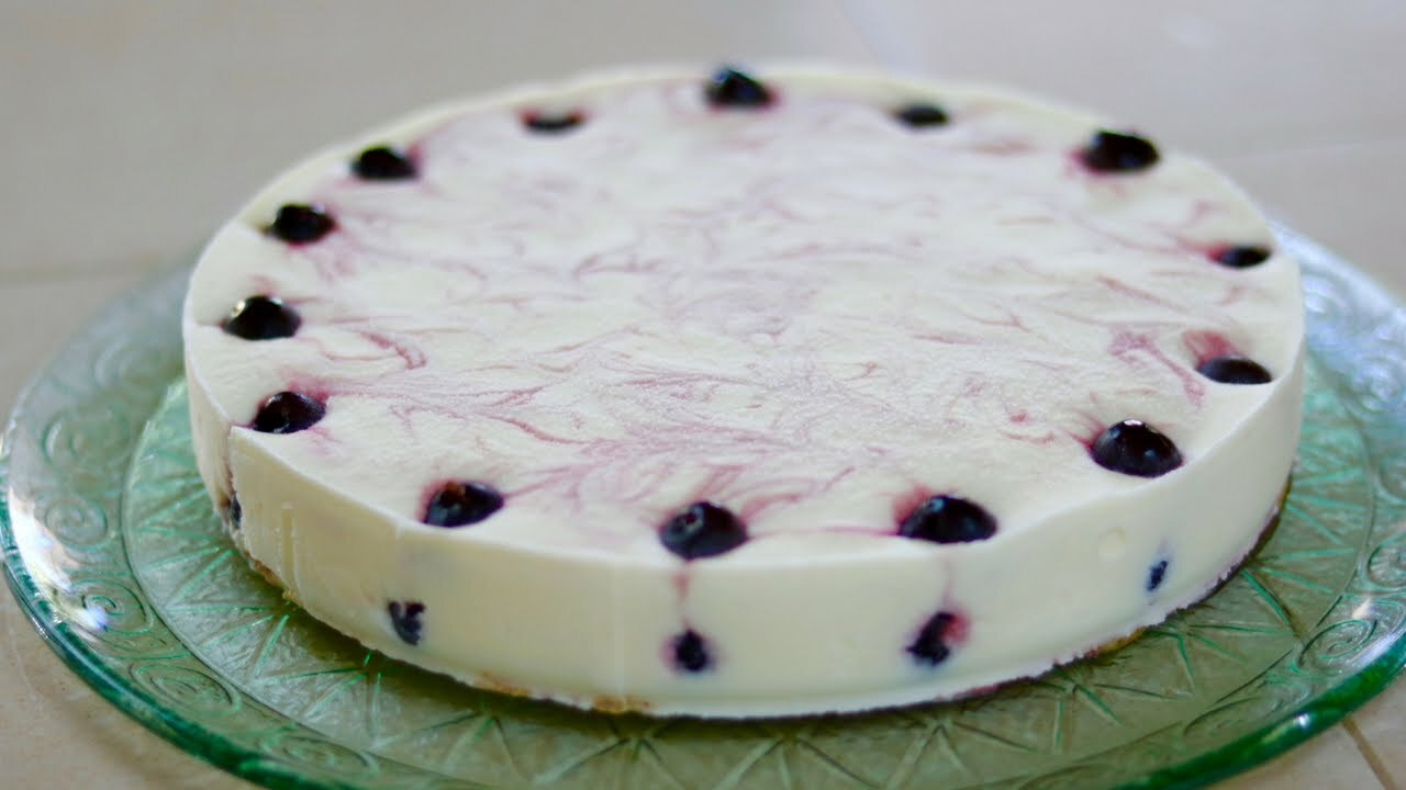 TORTA GELATO ALL'AMARENA Ricetta Facile – Sweet Cherry Ice Cream Cake Recipe