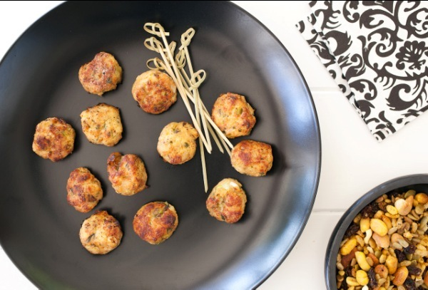 Chicken, Ginger and Coriander Meatballs