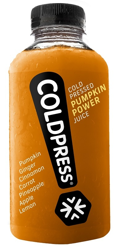 Coldpress' 'Pumpkin Power' juice set for Halloween parties