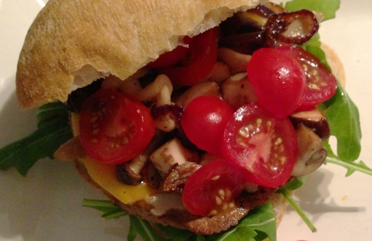 italiaanse hamburger recept
