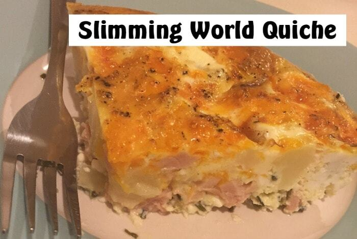 Slimming World Quiche – Tasty, cheap and syn free….