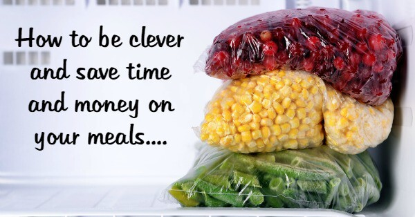 #PowerOfFrozen – How to be clever and save time and money on your meals….