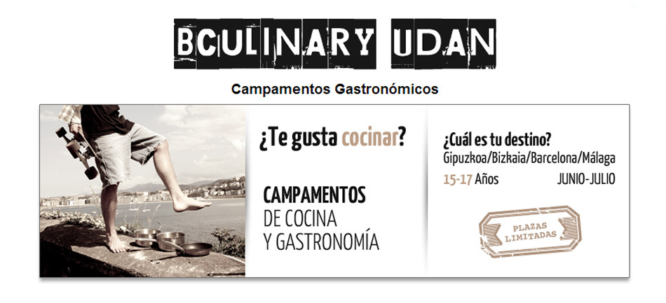 Campamentos Gastronómicos Basque Culinary Center 2014