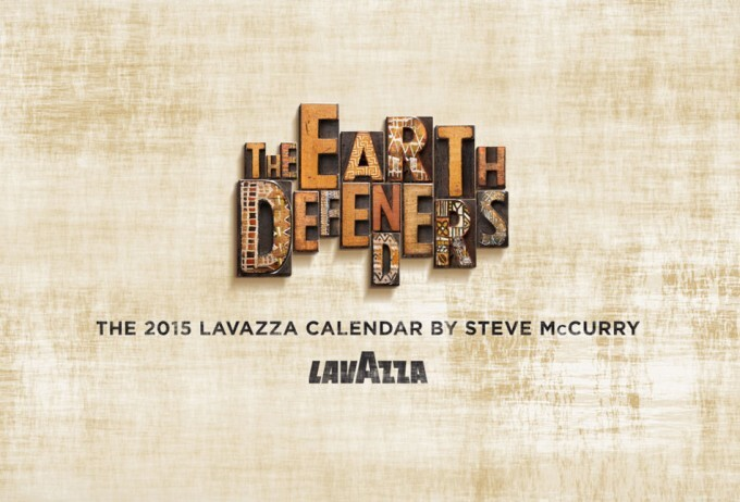 Calendario Lavazza 2015: Los Defensores de la Tierra