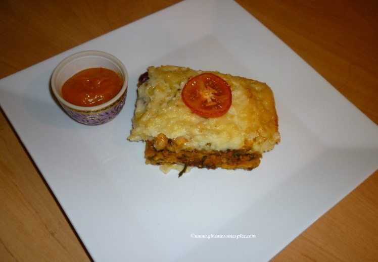 Vegetarian Four Bean Cottage Pie
