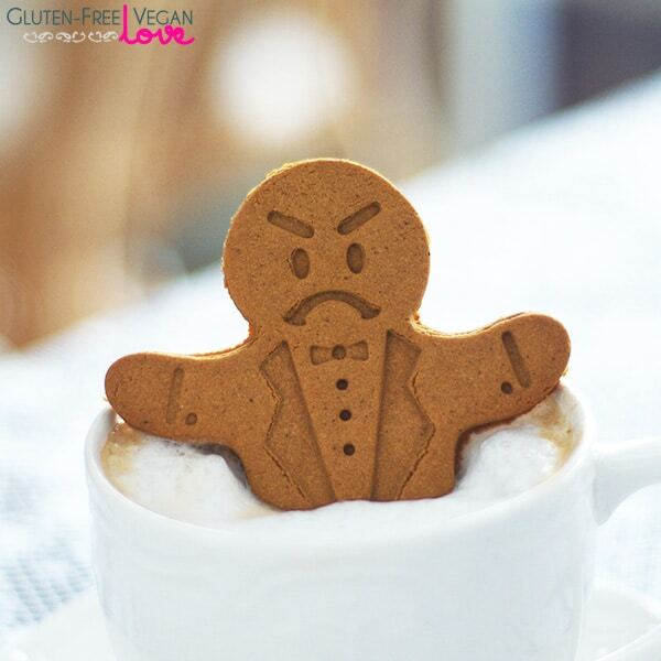 Gluten-Free Vegan Gingerbread Men Cookies Recipe